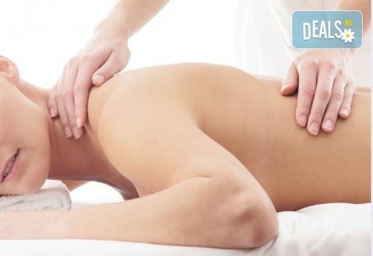 Преглед от професионален физиотерапевт, 70 минутен лечебен масаж при дискова херния + лазертерапия или инверсионна терапия в студио Samadhi! - Снимка 2