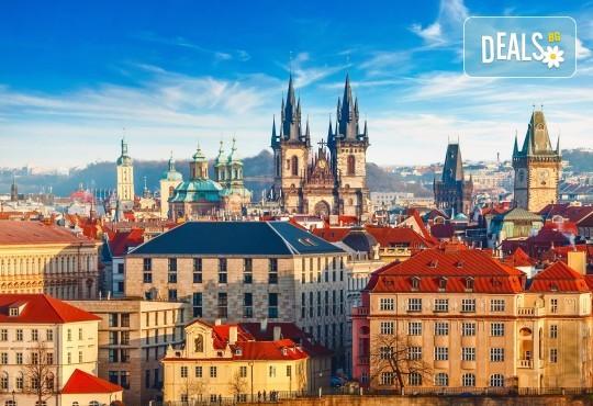 До Братислава, Дрезден и Прага през април: 3 нощувки и закуски, транспорт и програма