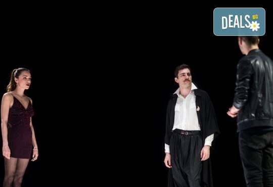 Гледайте Бойко Кръстанов, Александър Хаджиангелов, Михаил Билалов в Петел на 23.02. от 19 ч. в Младежки театър, билет за един! С номинация за Аскер 2018! - Снимка 7