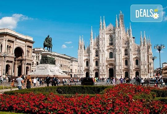 Екскурзия до Милано, Италия! 3 нощувки със закуски, самолетен билет и летищни такси, възможност за посещение на езерата Гарда и Комо! - Снимка 1