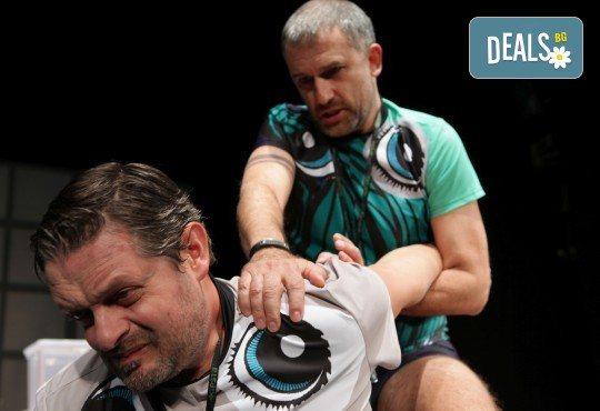Гледайте Законът на Архимед с Пенко Господинов и Ирини Жамбонас в Малък градски театър Зад канала на 12-ти март (вторник)! - Снимка 12
