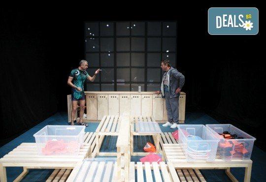 Гледайте Законът на Архимед с Пенко Господинов и Ирини Жамбонас в Малък градски театър Зад канала на 12-ти март (вторник)! - Снимка 1