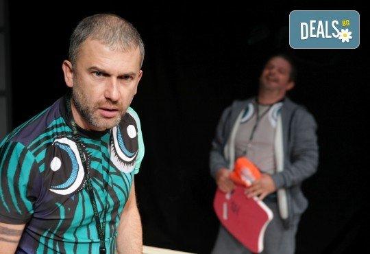 Гледайте Законът на Архимед с Пенко Господинов и Ирини Жамбонас в Малък градски театър Зад канала на 12-ти март (вторник)! - Снимка 7