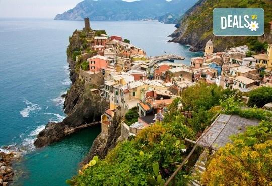 Екскурзия до Чинкуе Терре и Тоскана! 4 нощувки със закуски и вечери в Монтекатини Терме, самолетен билет, екскурзовод! - Снимка 2