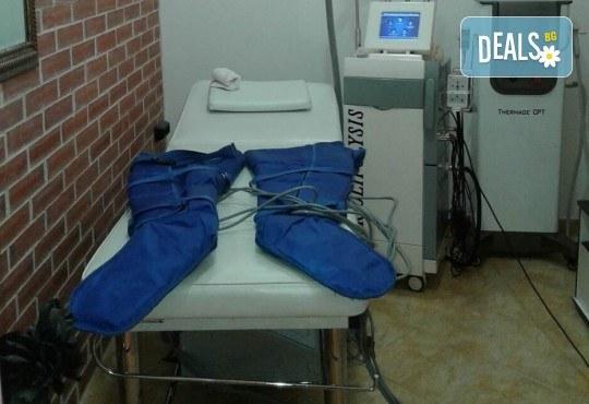 Антицелулитна пресотерапия на цели крака - 1 или 10 процедури, в салон за красота Алма Морел! - Снимка 5