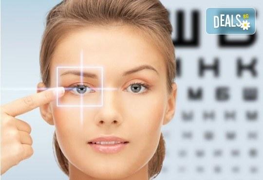 Обстоен офталмологичен преглед в медицински център Хелт