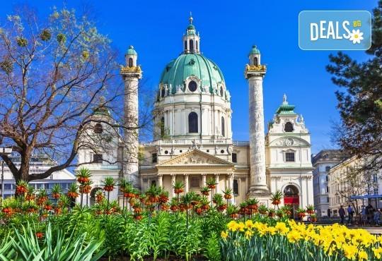 Пролетна екскурзия до Виена, Будапеща и Братислава! 3 нощувки със закуски, самолетен билет, транспорт с автобус и водач от Дари Травел! - Снимка 1