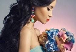 Пробиване на уши и подарък: медицински обеци по избор в салон за красота Beauty Angel! - Снимка