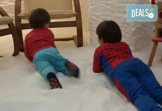 Здрави деца! 1, 3 или 6 комбинирани посещения на солна стая на дете и възрастен в Солни стаи Medisol! - Снимка 4
