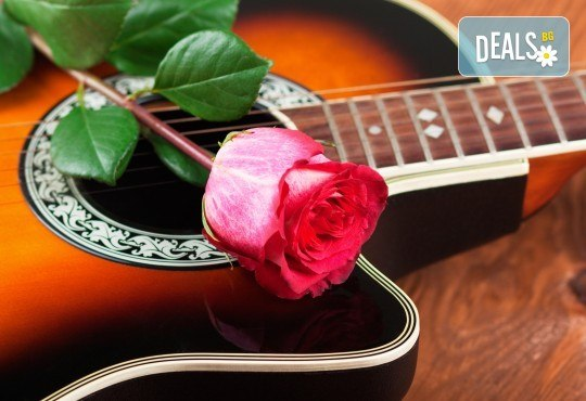 Серенада с музика на живо за 14-ти февруари от MUSIC for You!