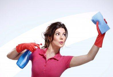 Основно почистване и санитаризиране на дом или офис до 100 кв.м. от Професионално почистване Ferery Style! - Снимка