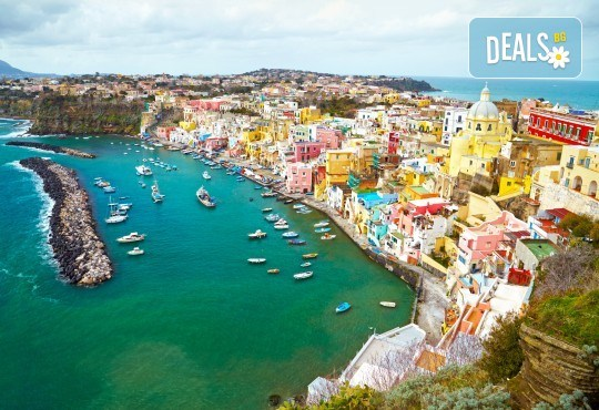 През април или юли до Рим и Неапол: 4 нощувки и закуски, самолетни билети, водач