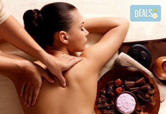 Оздравителен дълбокотъканен масаж на гръб, врат, ръце и седалище или на цяло тяло, от Студио Модерно е да си здрав! - Снимка 2