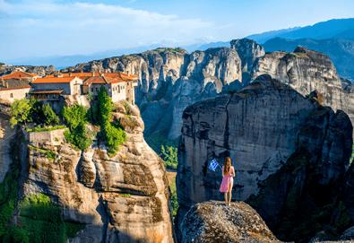 Екскурзия за 24 май до Солун с посещение на феномена Метеора! 2 нощувки със закуски на Олимпийската ривиера, транспорт и водач!