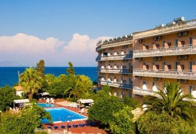 Ранни записвания за почивка на о. Корфу, Гърция! 6 нощувки със закуски и вечери в Potamaki Beach Hotel 3*, възможност за транспорт! - Снимка