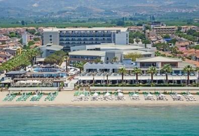 На море в Кушадасъ с Тансу Травел! 5 нощувки на база 24ч. All Inclusive в Hotel Palm Wings Beach Resort&Spa 5*, възможност за транспорт - Снимка