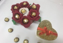 Подарък за любимата! Луксозна шоколадова кутия Единствена от Онлайн магазин за подаръци Банана! - Снимка