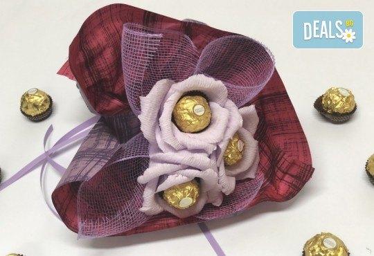 Подарете с любов! Шоколадов букет Valentines Heart от Онлайн магазин за подаръци Банана! - Снимка 1
