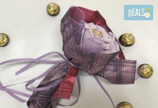 Подарете с любов! Шоколадов букет Valentines Heart от Онлайн магазин за подаръци Банана! - Снимка 2
