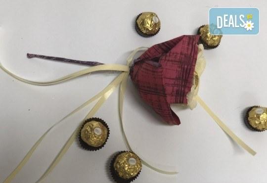 Свети Валентин наближава! Подарете Шоколадов букет Срамежливка от Онлайн магазин за подаръци Банана! - Снимка 3