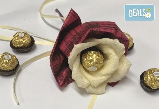 Свети Валентин наближава! Подарете Шоколадов букет Срамежливка от Онлайн магазин за подаръци Банана! - Снимка 1