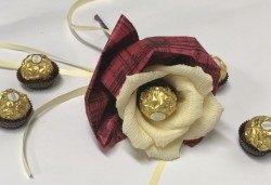Свети Валентин наближава! Подарете Шоколадов букет Срамежливка от Онлайн магазин за подаръци Банана! - Снимка