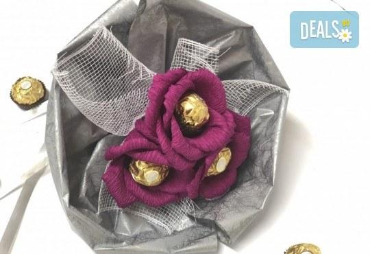 Езикът на романтиката! Подарете стилен шоколадов букет Поезия от Онлайн магазин за подаръци Банана! - Снимка 1