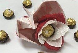 Подарете с любов! Шоколадов букет Сърце и шоколад от Онлайн магазин за подаръци Банана! - Снимка