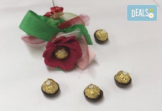 Романтика и стил! Подарете Шоколадов букет Целувка от Онлайн магазин за подаръци Банана! - Снимка 2