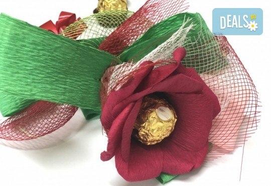 Романтика и стил! Подарете Шоколадов букет Целувка от Онлайн магазин за подаръци Банана! - Снимка 1