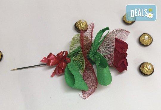 Романтика и стил! Подарете Шоколадов букет Целувка от Онлайн магазин за подаръци Банана! - Снимка 3