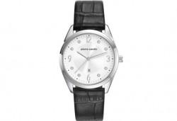 Елегантен часовник на Pierre Cardin с кристални индекси + безплатна доставка! - Снимка