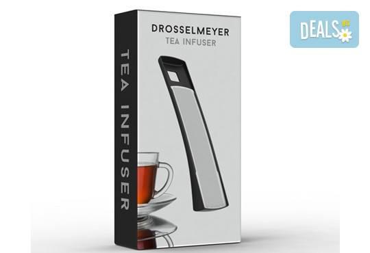 За любителите на чаените партита! Цедка-лъжичка за насипен чай от Drosselmeyer! - Снимка 5