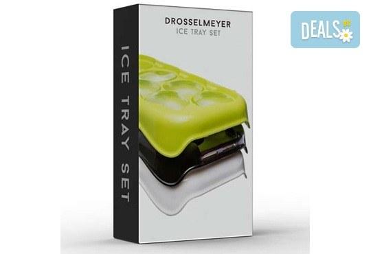 Качествена изработка! Комплект от 3 броя форми за лед от шведската фирма Drosselmeyer! - Снимка 2