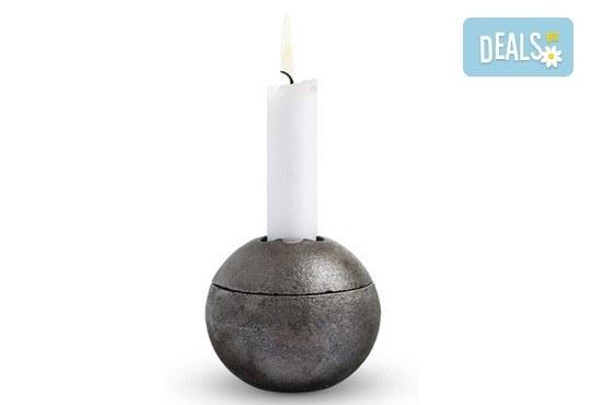 Красота от Севера! Свещник Drosselmeyer Orb с минималистичен скандинавски дизайн + безплатна доставка! - Снимка 6