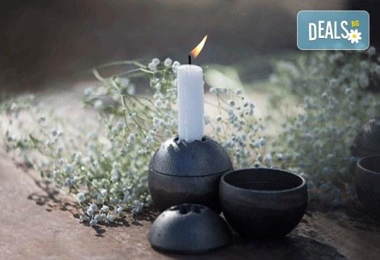 Красота от Севера! Свещник Drosselmeyer Orb с минималистичен скандинавски дизайн + безплатна доставка! - Снимка 3