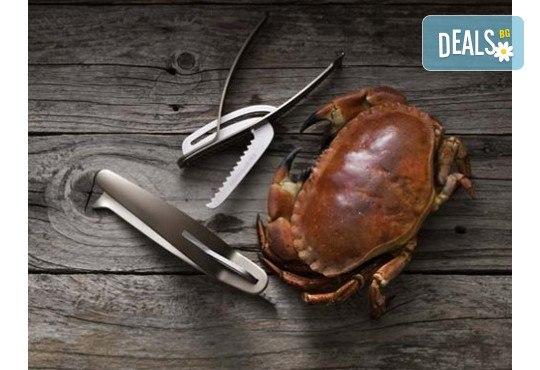 Tрошачка за крабове и раци с оригинален дизайн и изключителна функционалност от Drosselmeyer! - Снимка 1