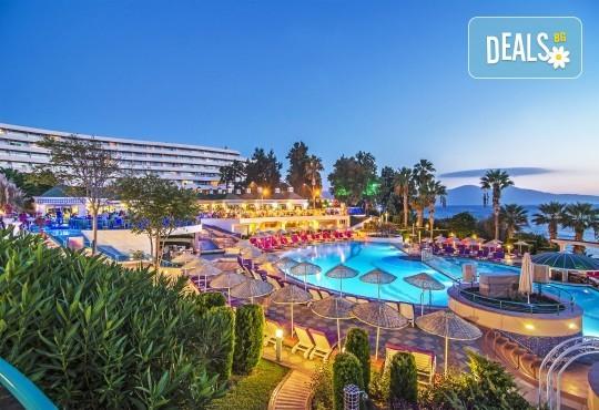 Ранни записвания за лятна почивка през 2019 в Кушадасъ с Тансу Травел! 5 нощувки на база All Inclusive в Hotel Grand Blue Sky 4*, възможност за транспорт - Снимка 1