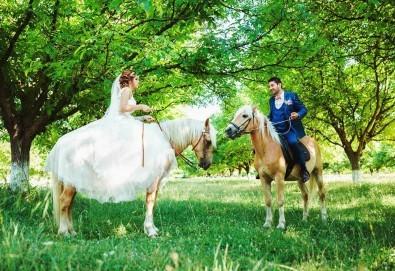 Урок по езда сред природата за двама с инструктор и екипировка от Ранчо Thracian Spirits! - Снимка
