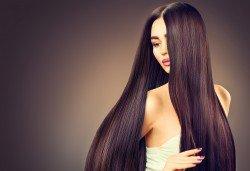 Полиране на коса с полировчик, арганова терапия и подсушаване в студио за красота Secret Vision! - Снимка