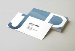 Изработка на визитки по Ваш дизайн - 100 бр. едностранни или двустранни визитки по избор, отпечатани върху висококачествен картон, от Хартиен свят! - Снимка