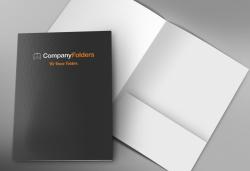Качествена изработка на добра цена! Изработка и печат на 100 бр. папки по дизайн на клиента от Хартиен свят! - Снимка