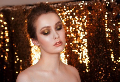 Съвършена визия! Абитуриентски грим със или без поставяне на мигли от Makeup by MM! - Снимка