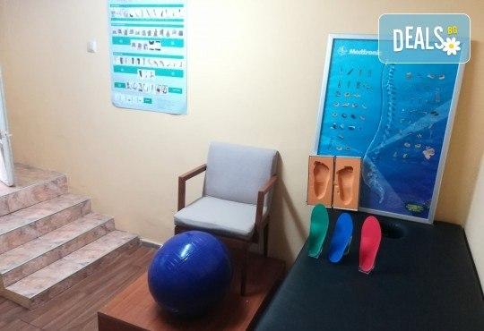 Функционален анализ на стойката - преглед за гръбначни изкривявания, преглед за плоскостъпие и компютърна диагностика на стъпалото, от специалист в Медицински център Медикрис! - Снимка 5