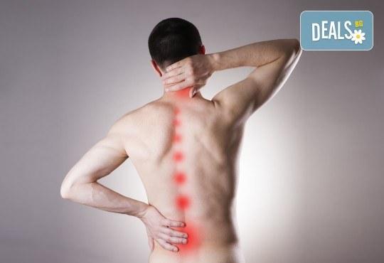 Преглед за гръбначни изкривявания, плоскостъпие и компютърна диагностика в Медикрис