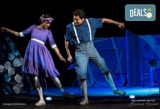 На театър с децата! Гледайте новата приказка Хензел и Гретел на 23.03. от 11 ч. в Младежки театър, голяма сцена! Билет за един - Снимка 1