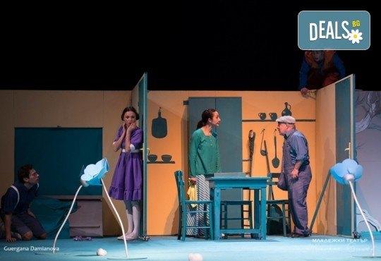 На театър с децата! Гледайте новата приказка Хензел и Гретел на 23.03. от 11 ч. в Младежки театър, голяма сцена! Билет за един - Снимка 9