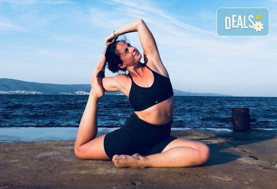 Хармония за тялото и ума! 2 или 4 посещения на йога със Здравка Будинова в Sofia International Music & Dance Academy! - Снимка 1