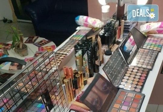 Изискана визия с дневен или вечерен грим със или без поставяне на мигли от Makeup by MM! - Снимка 8