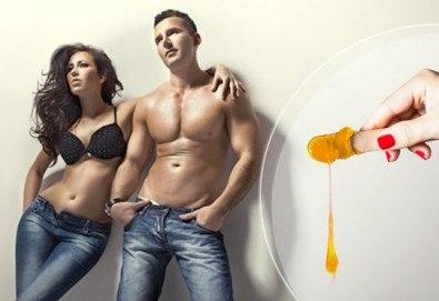 За копринено мека и гладка кожа! Кола маска на цяло тяло за жени или мъже в Barber shop Habibi! - Снимка